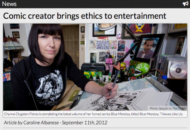 Comic creator brings ethics to entertainment