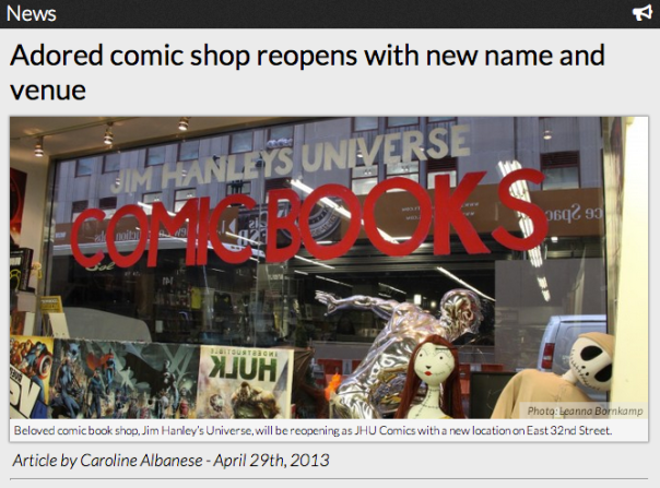 Adored comic shop reopens with new name and venue