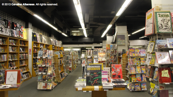 New York Comic Book Scene Goes Digital